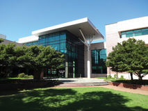 Stadshus i Cary, North Carolina Royaltyfria Bilder