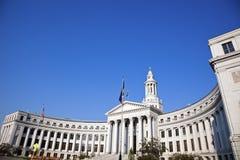 Stadshus i centra av Denver Royaltyfria Bilder