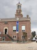 Stadshus i den holländska staden av Heusden. Nederländerna Royaltyfri Foto