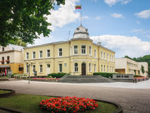 Stadshus i Druskininkai Royaltyfri Fotografi