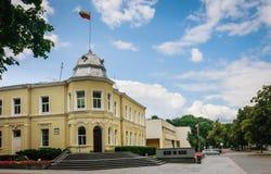 Stadshus i Druskininkai Fotografering för Bildbyråer