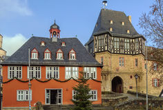 Stadshus i Idstein, Tyskland Royaltyfri Bild