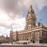 Stadshus i Leeds (den sköt dagen) Royaltyfri Fotografi