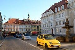Stadshus i Prudnik Royaltyfria Foton