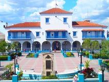 Stadshus i Santiago de Cuba Royaltyfri Fotografi