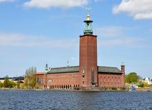 Stadshus i Stockholm, Sverige, Europa Arkivbild