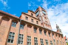 Stadshus i Torun Royaltyfri Bild