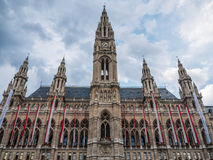 Stadshus i Wien, Österrike Fotografering för Bildbyråer