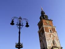 stadshus krakow Royaltyfria Bilder