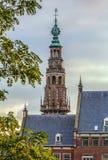 Stadshus Leiden, Nederländerna Arkivbild