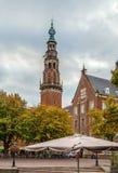 Stadshus Leiden, Nederländerna Fotografering för Bildbyråer