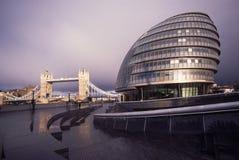 stadshus london Arkivbild