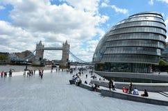 Stadshus London England UK Arkivbild