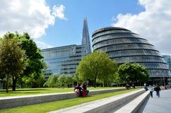 Stadshus London England UK Royaltyfri Fotografi