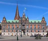 stadshus malmo sweden Arkivfoton