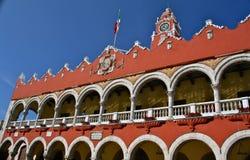 stadshus merida mexico yucatan Royaltyfria Bilder