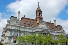 stadshus montreal Fotografering för Bildbyråer