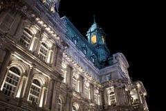 stadshus montreal royaltyfri fotografi