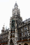 stadshus munich Royaltyfri Foto