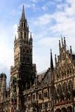 Stadshus Munich Arkivfoto