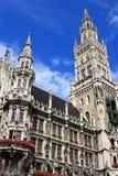 Stadshus Munich Royaltyfri Bild