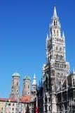 stadshus munich Arkivbild