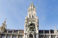 stadshus munich Fotografering för Bildbyråer