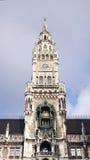 Stadshus Munich, Tyskland Arkivfoto