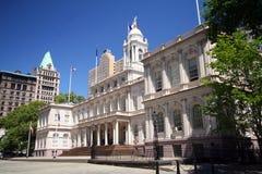 stadshus New York fotografering för bildbyråer