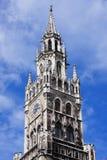 stadshus nya munich royaltyfria foton
