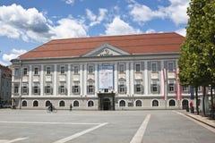 Stadshus på Neuer Platz, Klagenfurt Arkivbilder