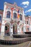 Stadshus på staden Ruzomberok Royaltyfri Fotografi