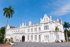 stadshus penang royaltyfria foton