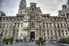 stadshus philadelphia Royaltyfria Bilder