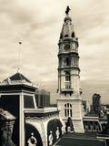 stadshus philadelphia arkivfoton