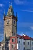 stadshus prague Arkivbilder