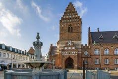 Stadshus Roskilde Arkivfoto