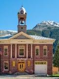 Stadshus Silverton, Colorado Arkivfoto