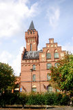 stadshus som jonkoping sweden arkivbild