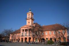 Stadshus Sombor, Serbien Royaltyfri Fotografi