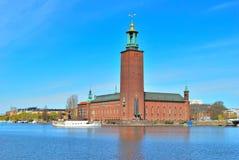 stadshus stockholm fotografering för bildbyråer
