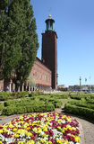 stadshus stockholm Royaltyfri Bild