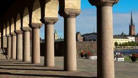 stadshus stockholm sweden arkivfilmer