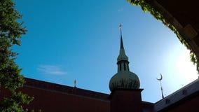 stadshus stockholm sweden stock video