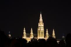 stadshus vienna Arkivfoto