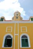 Stadshus Willemstad Curacao Royaltyfri Bild