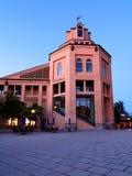 Stadshusbyggnad i Mountain View, Kalifornien Royaltyfria Bilder