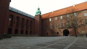 Stadshuset/Δημαρχείο, Στοκχόλμη Σουηδία φιλμ μικρού μήκους