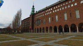 Stadshuset/Δημαρχείο, Στοκχόλμη Σουηδία απόθεμα βίντεο