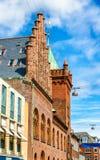 Stadshuset av Elsinore eller Helsingor - Danmark Fotografering för Bildbyråer